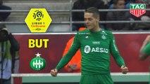 But Romain HAMOUMA (59ème) / Stade de Reims - AS Saint-Etienne - (3-1) - (REIMS-ASSE) / 2019-20