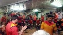 La joie de Saint-Estève XIII Catalan après la victoire à Palau