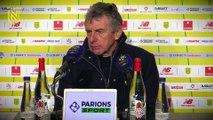 FC Nantes - Dijon FCO : la réaction des coachs