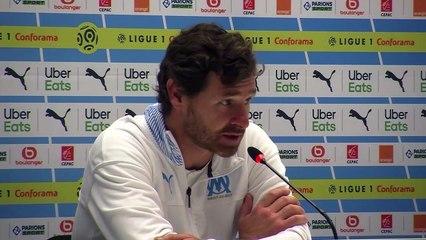 Conf de presse d'André Villas-Boas