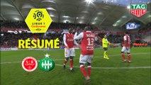 Stade de Reims - AS Saint-Etienne (3-1)  - Résumé - (REIMS-ASSE) / 2019-20