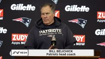 Bill Belichick Chiefs vs. Patriots Postgame Press Conference