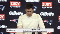 Tom Brady On Patriots Getting Booed At Haltime