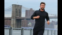 Chris Hemsworth looks suave during casual jog in New York City