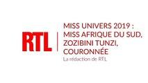 Miss Univers 2019 : Miss Afrique du Sud, Zozibini Tunzi, couronnée