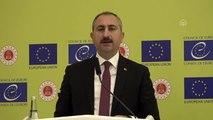 """Adalet Bakanı Gül: """"Hak ve özgürlüklerin daha da geliştirilmesi için yeni bir İnsan Hakları Eylem..."""