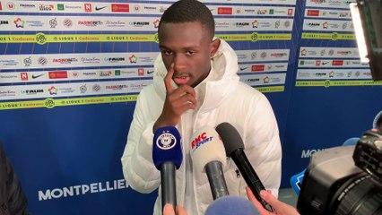 Tanguy Kouassi évoque sa première à Montpellier et sa situation personnelle