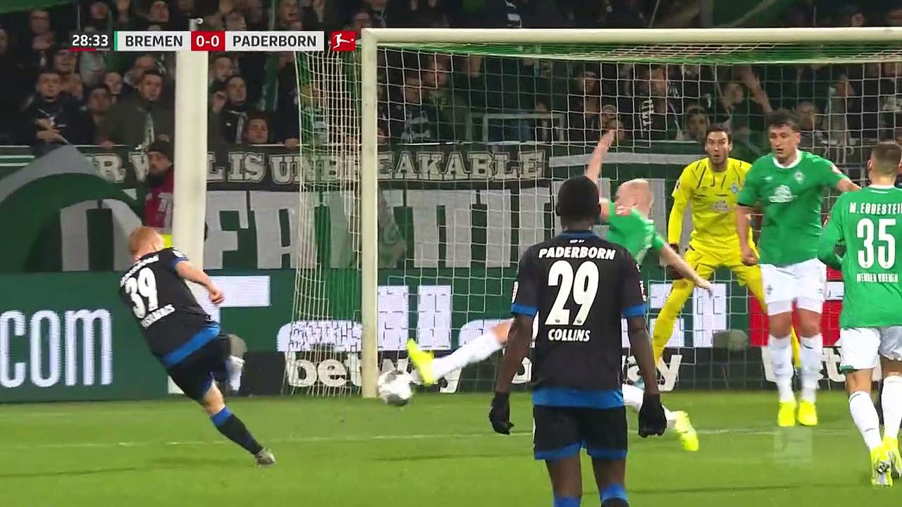 Werder Bremen - Paderborn (0-1) - Maç Özeti - Bundesliga 2019/20