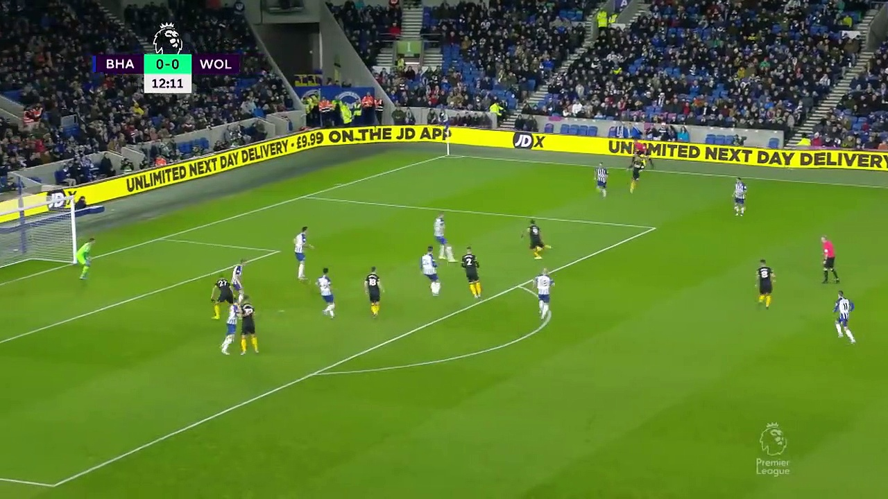 Brighton - Wolves (2-2) - Maç Özeti - Premier League 2019/20
