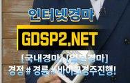 인터넷경마사이트추천 ∞ GDSP 2 . NeT ◎/