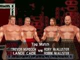 WWE Summerslam Mod Mathes Lance Cade & Trevor Murdoch vs The Highlanders