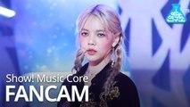 [예능연구소 직캠] AOA - COME SEE ME (JIMIN), AOA – 날 보러 와요(지민) @Show Music Core 20191207