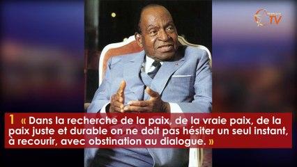 10 citations marquantes de Félix Houphouët Boigny