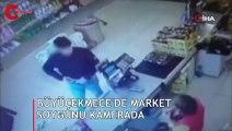 Yer: İstanbul... Silahlı market soygunu kamerada!