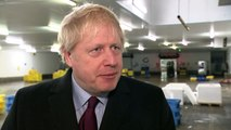 Boris Johnson says the Tories offer 'a message of unity'