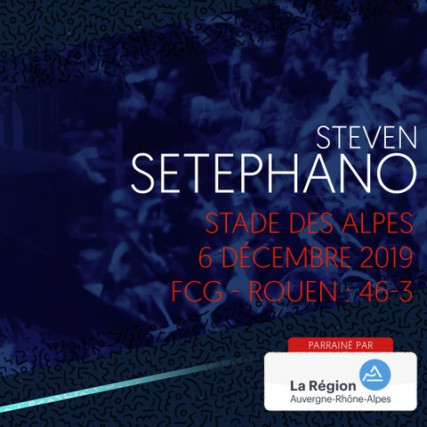 Rugby : Video - L'essai de Steven Setephano contre Rouen