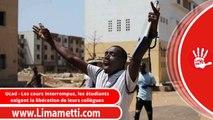 Ucad - Les cours interrompus, les étudiants exigent la libération de leurs collègues