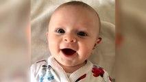 La réaction adorable d'un bébé sourd lorsque sa mère allume ses appareils auditifs