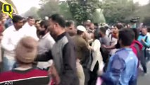 Lathicharge in JNU Students' March to Rashtrapati Bhavan | The Quint