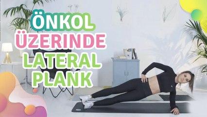 Önkol üzerinde lateral plank - Sağlığa bir Adım