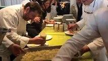 10 chefs préparent ce repas de Noël pour les bénéficiaires du Secours Populaire