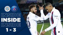 L'Inside : Montpellier HSC - Paris Saint-Germain