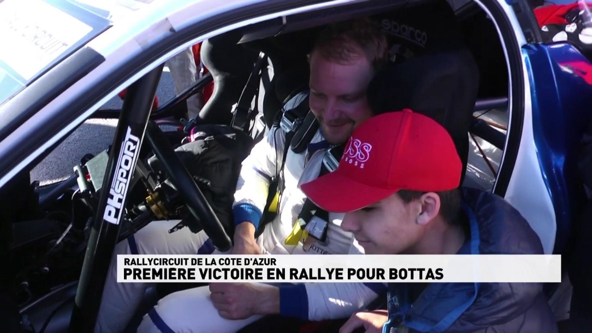 Première victoire en rallye pour Bottas