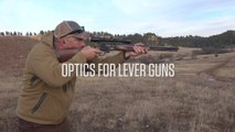 Three Types of Optics for Lever Guns