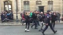 Activistas de Femen protestan frente al Palacio del Elíseo bajo el lema Stop Putin, stop
