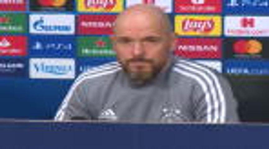 """Ajax - ten Hag : """"Nous savons comment battre Valence"""""""
