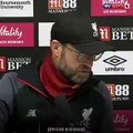 Football - Jurgen Klopp's reaction to a reporter's phone going off is priceless