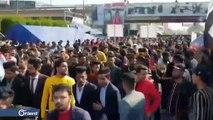 العراقيون يشيعون الناشط فاهم الطائي ومظاهرات غاضبة في كربلاء