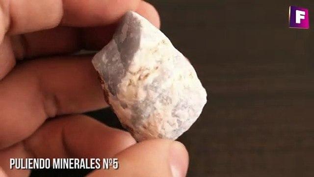 Puliendo Minerales #5 - Angelita - creamos un cabujon gema en forma de lagrima - foro de minerales