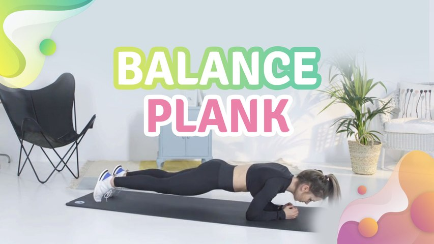 Balance plank - Step to Health