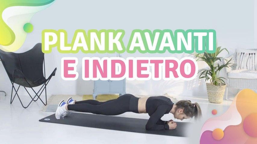 Plank avanti e indietro - Vivere più Sani