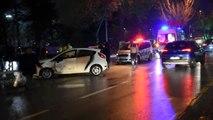 Malatya'da zincirleme kaza: 2'si bebek, 5 yaralı