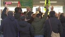 Grève : les cheminots mobilisés à Nantes