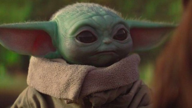 Baby Yoda, at the top of Amazon sales