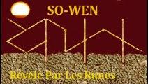 SO-WEN (Samhain) Révélé Par Les Runes
