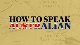 How to Speak Australian Golf