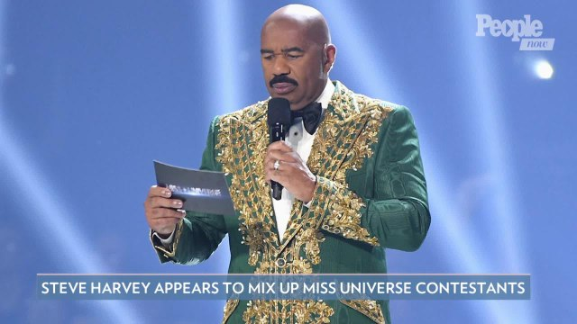 Steve Harvey Appears to Mix Up Miss Universe Contestants (Again): 'Quit Doing This To Me'