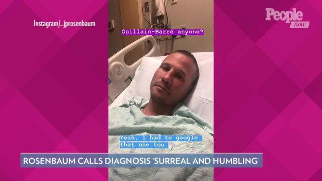 Former 'Bachelorette' Star J.P. Rosenbaum Diagnosed with Rare Guillain-Barré Syndrome