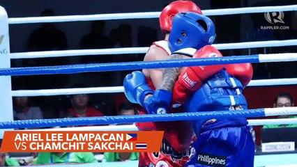 SEA Games 2019: Philippines vs Thailand, muay thai men's 54kg