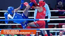 SEA Games 2019: Philippines vs Thailand, muay thai men's 63.5 kg