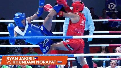 SEA Games 2019: Philippines vs Thailand, muay thai men's 63.5 kg