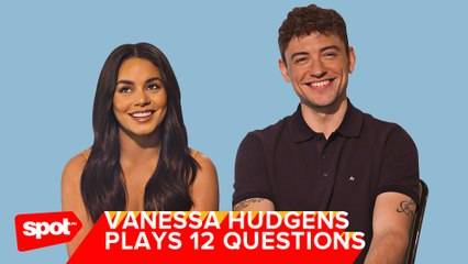 Vanessa Hudgens and Josh Whitehouse Play 12 Questions of Christmas