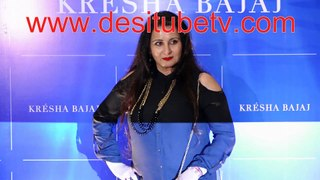 Chunky Pandey Poonam Dhillon spotted at Kresha Bajaj's fashion show. God they still look so young and gorgeous