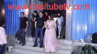 Dabangg 3 Bigg Boss 13 - Salman Khan Sonakshi Sinha Prabhu Deva Saiee Manjrekar on the set of Bigg Boss 13