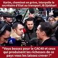 Grève: Jean-Baptiste Djebbari est interpellé par un gréviste sur la réforme des retraites