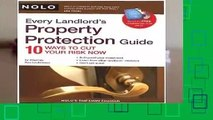 [Read] Every Landlord s Property Protection Guide: 10 Ways to Cut Your Risk Now [With CDROM]